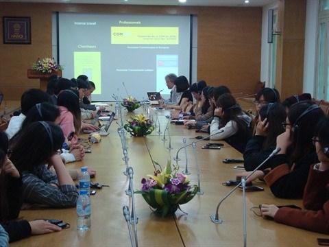La communication au cœur d'une conference a Hanoi hinh anh 1