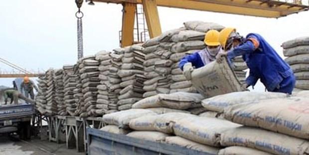 Ciment: 5,5 millions de tonnes exportees en janvier et fevrier hinh anh 1