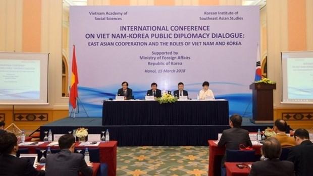 Role du Vietnam et de la R. de Coree dans la cooperation en Asie de l'Est hinh anh 1