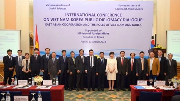 Role du Vietnam et de la R. de Coree dans la cooperation en Asie de l'Est hinh anh 2