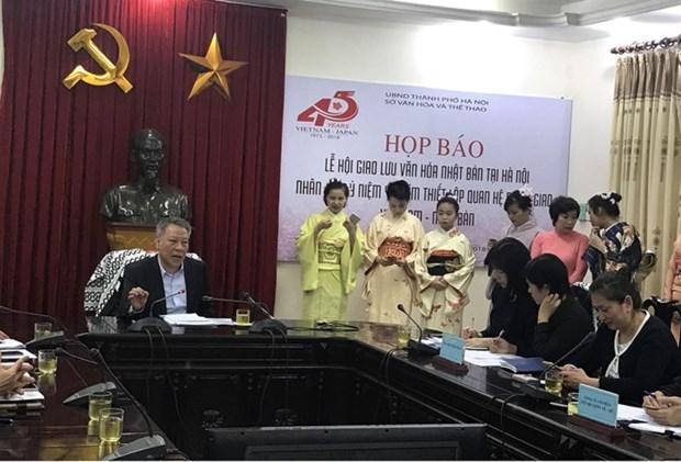 Une riche palette d'activites a la Fete d'echanges culturels Vietnam-Japon hinh anh 1