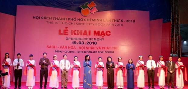 Ouverture du Salon du livre de Ho Chi Minh-Ville 2018 hinh anh 1