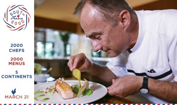 Gout de France: une occasion pour deguster des menus a la francaise au Vietnam hinh anh 1