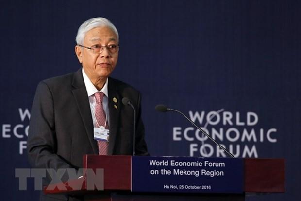 Le president du Myanmar a demissionne hinh anh 1