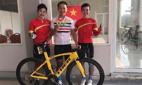 Nguyen Thi That, espoir de medaille d'or du Vietnam a l'ASIAD 18 hinh anh 3