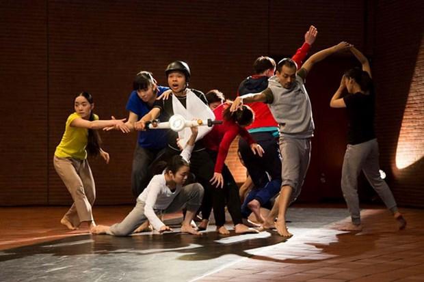 La circulation vietnamienne inspire un spectacle de danse japonais hinh anh 1