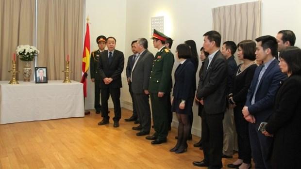 Des amis etrangers rendent hommage a l'ancien PM Phan Van Khai hinh anh 1