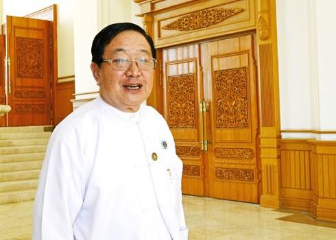 Myanmar: U T Khun Myat est elu president de la Chambre des representants hinh anh 1