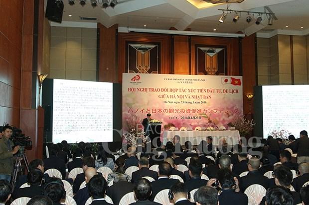 Hanoi renforce sa cooperation avec le Japon hinh anh 1