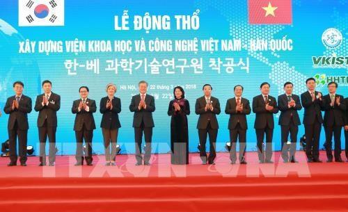 Cooperation avec la Republique de Coree dans les sciences et les sports hinh anh 1