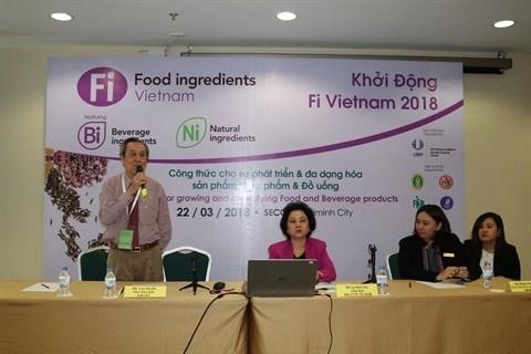 Rendez-vous en mai a Ho Chi Minh-Ville pour l'exposition Food Ingredients 2018 hinh anh 1