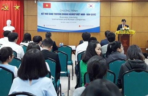 Programme d'echange entre entreprises vietnamiennes et sud-coreennes hinh anh 1