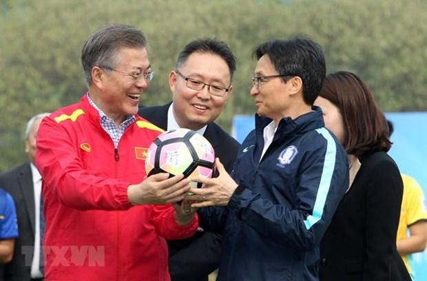 Cooperation avec la Republique de Coree dans les sciences et les sports hinh anh 2