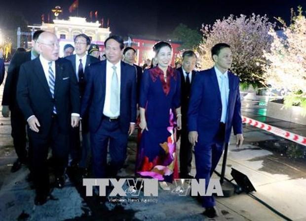 Debut des activites d'echange culturel Vietnam - Japon a Hai Phong hinh anh 1