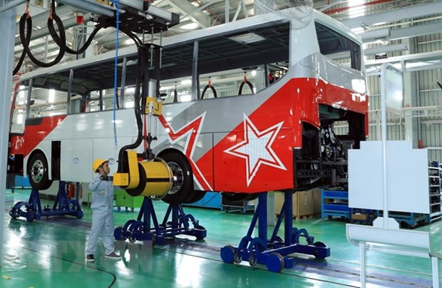 Inauguration de l'usine de production de voitures Thaco Mazda hinh anh 2