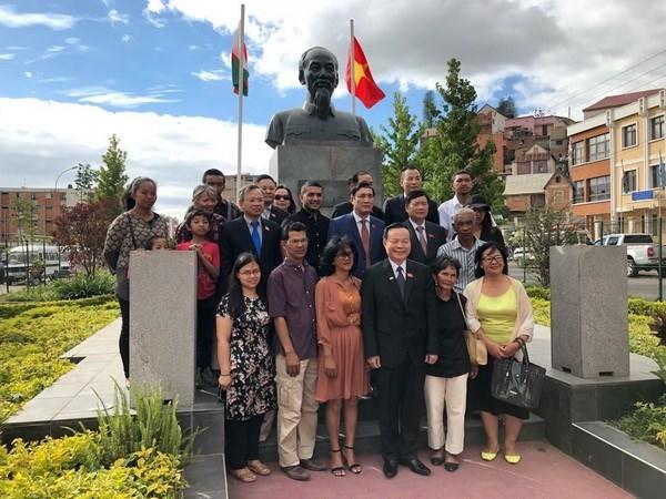 Activites de la delegation de l'Assemblee nationale a Madagascar hinh anh 1
