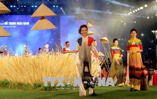 Cloture de la 5e edition du Festival de l'ao dai de Ho Chi Minh-Ville hinh anh 1