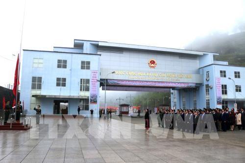 Ouverture officielle de la porte frontaliere de Xin Man – Wenshan hinh anh 1