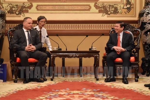 Promouvoir la cooperation entre Ho Chi Minh-Ville et la capitale slovaque hinh anh 1