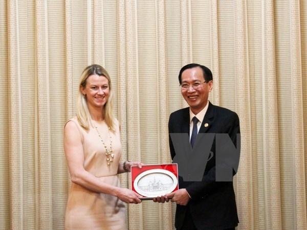 Ho Chi Minh-Ville appelle plus d'investissements americains hinh anh 1