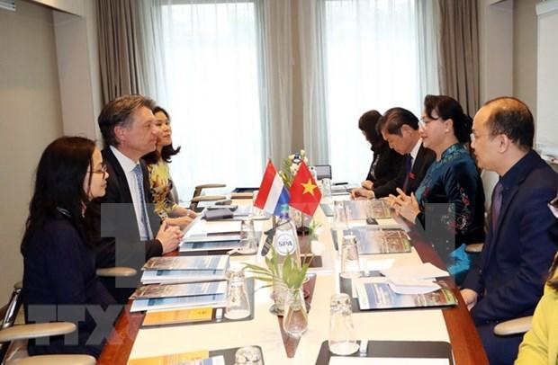 Vietnam-Pays-Bas : volonte commune de renforcer la cooperation dans les ports maritimes hinh anh 1