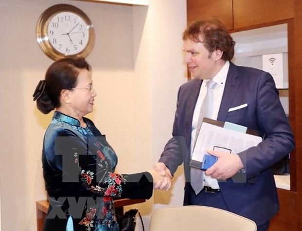 Le Vietnam souhaite etudier les experiences neerlandaises en matiere d'environnement hinh anh 1