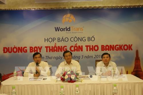 WorldTrans exploite la ligne directe Can Tho - Bangkok en 2018 hinh anh 1