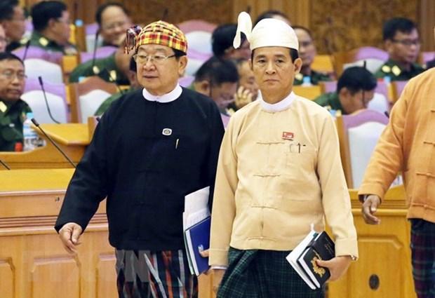 Message de felicitations au nouveau president du Myanmar hinh anh 1