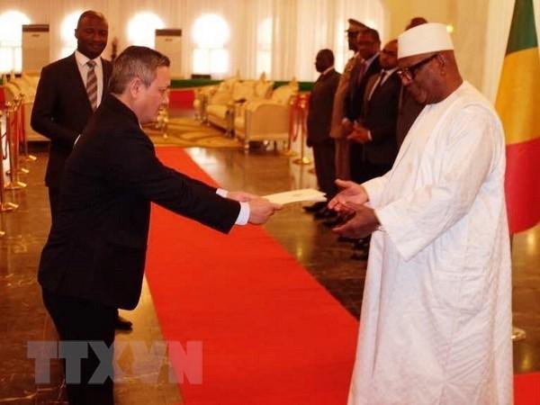 Le president malien souhaite renforcer la cooperation multiforme avec le Vietnam hinh anh 1