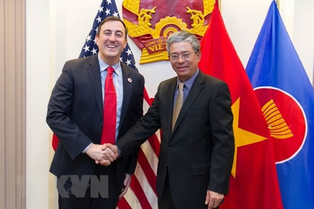 Vietnam-Etats-Unis : renforcement de la cooperation entre les deux Croix-rouge hinh anh 1