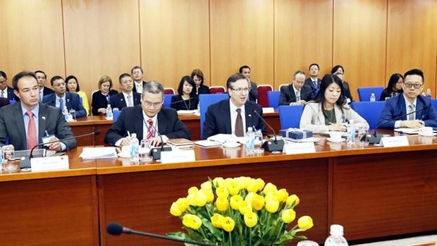 Le Vietnam et le Conseil des Affaires Etats-Unis-ASEAN cooperent dans le domaine financier hinh anh 1