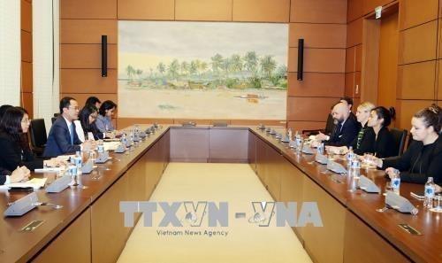 Vietnam - Etats-Unis : renforcement de la cooperation entre les organes legislatifs hinh anh 1