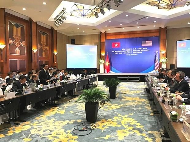 Dialogue sur la securite energetique entre le Vietnam et les Etats-Unis hinh anh 1