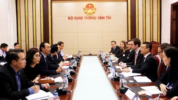 Le Vietnam et l'USABC travaillent sur les transports et l'importation des voitures hinh anh 1