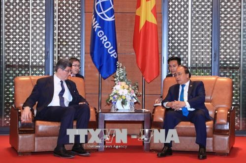 Le PM Nguyen Xuan Phuc recoit le directeur general de la BM hinh anh 1