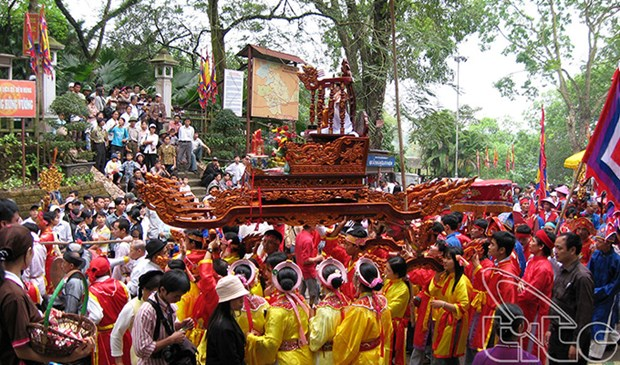Le Festival du temple des rois Hung debutera le 21 avril hinh anh 1