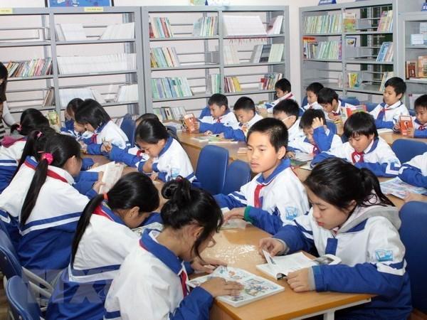 Un projet finance par Singapour pour developper l'habitude de la lecture hinh anh 1
