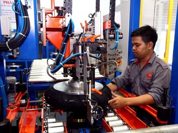 L'indice de production industrielle de HCM-Ville en hausse de 6,05% hinh anh 1