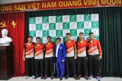 Tennis : ouverture de la coupe Davis pour l'Asie-Pacifique hinh anh 1