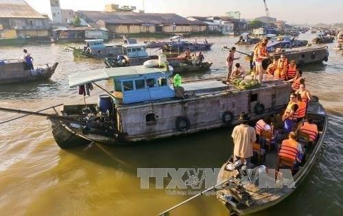 Can Tho accueille 2,4 millions de touristes au premier trimestre hinh anh 1