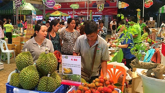 Foire aux produits vietnamiens de haute qualite 2018 a Ho Chi Minh-Ville hinh anh 1