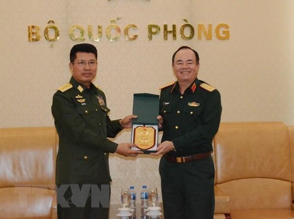 Le Vietnam et le Myanmar souhaitent approfondir la cooperation de defense hinh anh 1