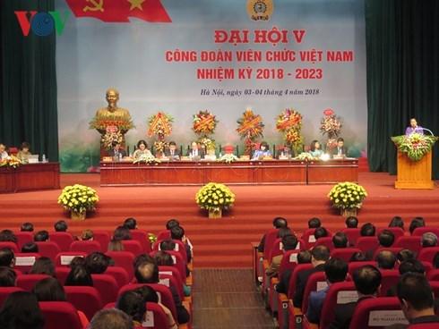 Congres du syndicat des employes d'Etat du Vietnam hinh anh 1