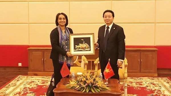 Le Maroc souhaite renforcer sa cooperation avec le Vietnam dans la gestion des ressources en eau hinh anh 1