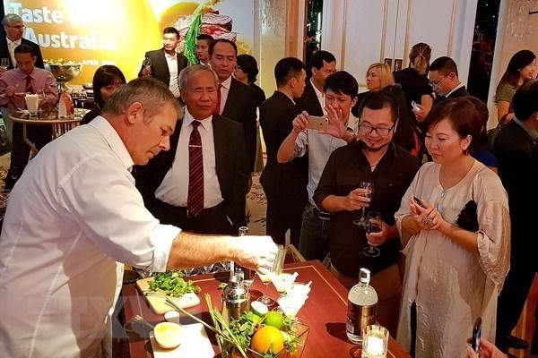 Taste of Australia apporte la cuisine et la musique australiennes au Vietnam hinh anh 1