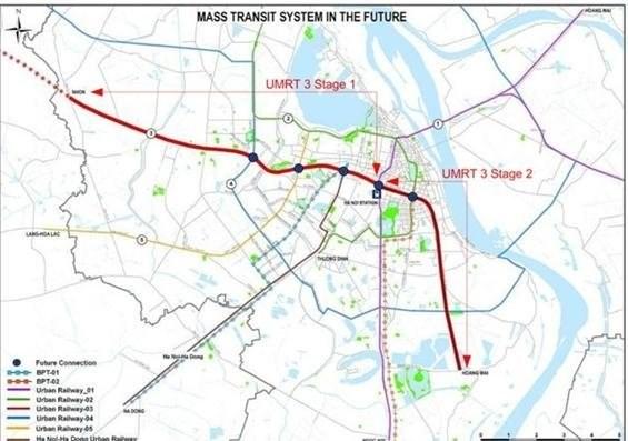 Hanoi : Cooperation pour la ligne ferroviaire urbaine et la construction du stade Hang Day hinh anh 1