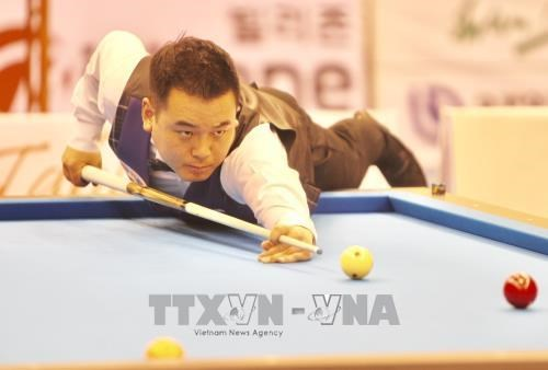 Championnats d'Asie de billard carambole: les Sud-coreens dominent a trois bandes hinh anh 1