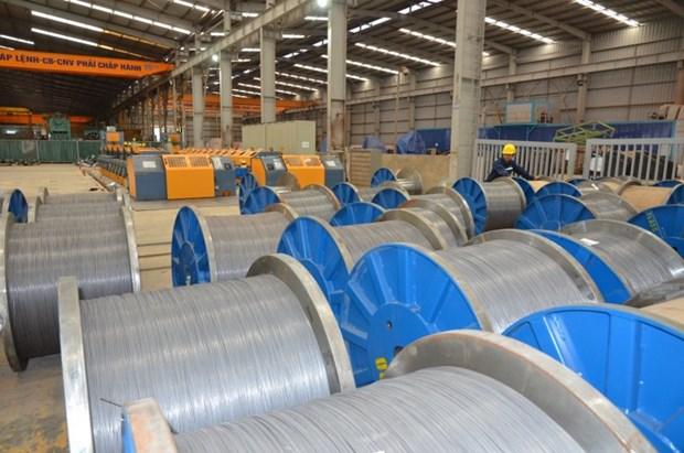 Hoa Phat exporte des fils en acier lamines vers le Laos et la Republique de Coree hinh anh 1