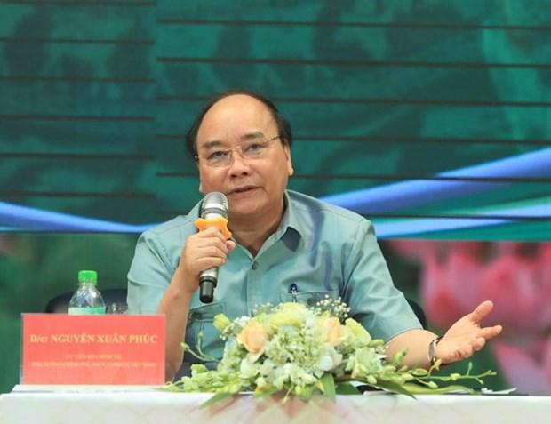 Hai Duong : Dialogue entre le Premier ministre et des paysans hinh anh 1