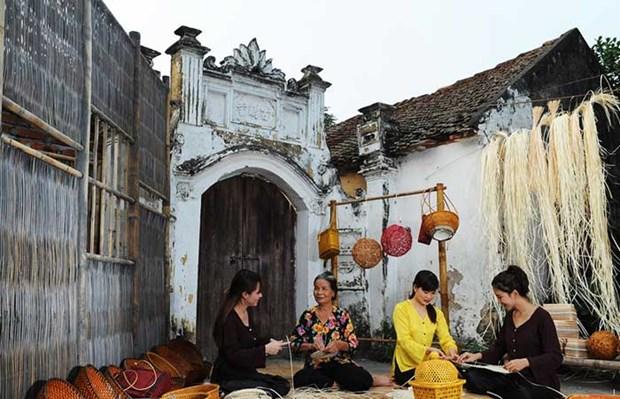 Le pays recense plus de 5.400 villages de metiers en activite hinh anh 1
